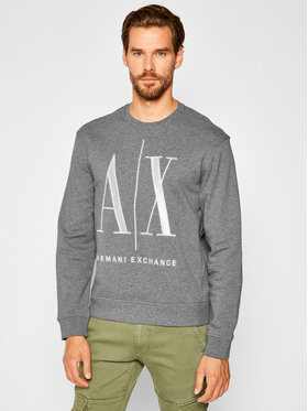 Armani Exchange Armani Exchange Sweatshirt 8NZMPA ZJ1ZZ 3930 Grau Regular Fit