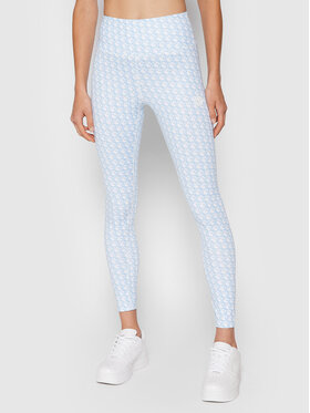 Guess Guess Leggings Caitlin O1BA24 MC03W Blu Slim Fit