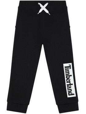 Timberland Timberland Spodnie dresowe T24B51 M Czarny Regular Fit