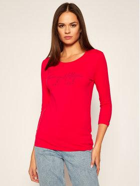TOMMY HILFIGER TOMMY HILFIGER T-Shirt WW0WW29364 Červená Regular Fit