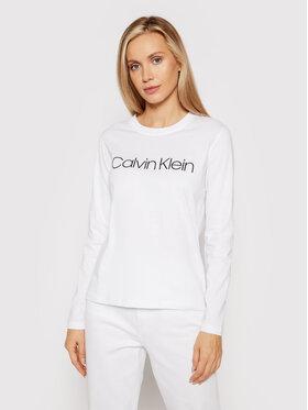 Calvin Klein Calvin Klein Блуза Core Logo K20K203024 Бял Regular Fit