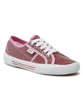 Pepe Jeans Pepe Jeans Teniszcipő Aberlady Sevy PLS30815 Rózsaszín
