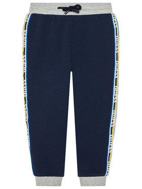 Guess Guess Pantalon jogging N1YQ13 KA6R0 Bleu marine Regular Fit