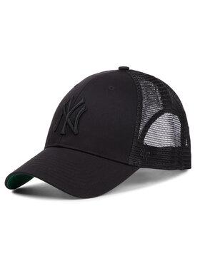 47 Brand 47 Brand Шапка с козирка New York Yankees B-BRANS17CTP-BKB Черен