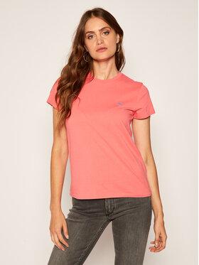 Polo Ralph Lauren Polo Ralph Lauren T-Shirt 211734144027 Różowy Regular Fit