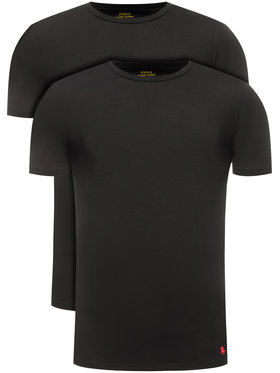 Polo Ralph Lauren Polo Ralph Lauren 2-dielna súprava tričiek 714621944 Čierna Slim Fit