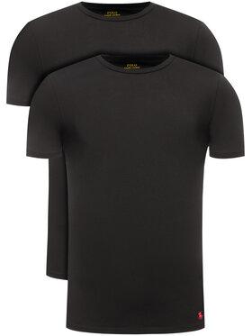 Polo Ralph Lauren Polo Ralph Lauren 2 póló készlet 714621944 Fekete Slim Fit
