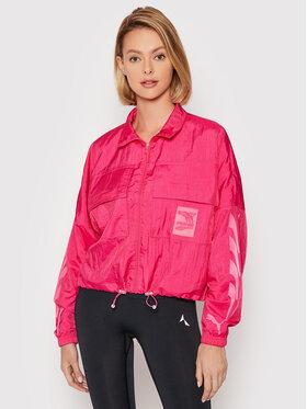 Puma Puma Демісезонна куртка Evide Woven 597770 Рожевий Relaxed Fit