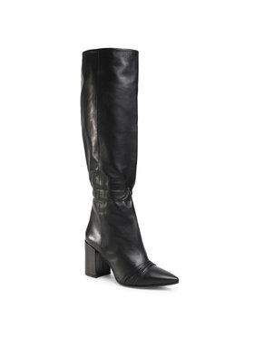 Zadig&Voltaire Zadig&Voltaire Kozačky Glimmer Boots Silk Lambsk SJAF1703F Černá
