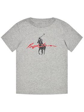 Polo Ralph Lauren Polo Ralph Lauren T-Shirt Ss Graph Tee 322839239003 Γκρι Regular Fit