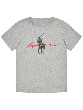 Polo Ralph Lauren Polo Ralph Lauren T-Shirt Ss Graph Tee 322839239003 Šedá Regular Fit