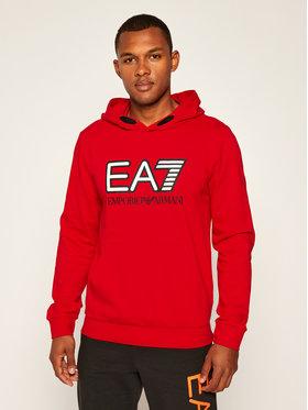 EA7 Emporio Armani EA7 Emporio Armani Džemperis 6HPM62 PJ05Z 1451 Raudona Regular Fit