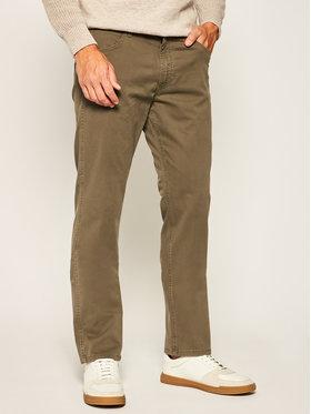 Wrangler Wrangler Pantalon en tissu Grrensboro W15QWA275 Vert Regular Fit