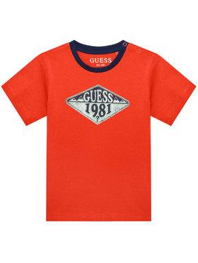 Guess Guess T-Shirt N1GI10 K8HM0 Pomarańczowy Regular Fit