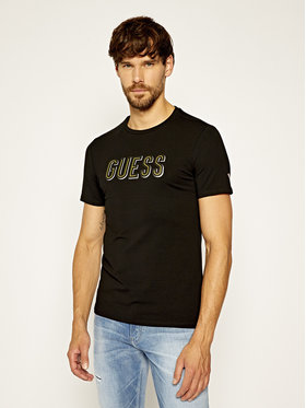Guess Guess T-shirt Deal M0YI9A J1300 Nero Slim Fit