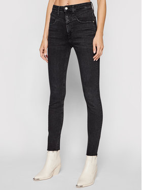 Calvin Klein Jeans Calvin Klein Jeans Traperice High Rise J20J216498 Crna Super Skinny Fit