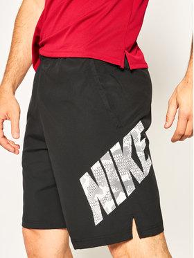 Nike Nike Sportovní kraťasy Flex Camo CJ1972 Černá Standard Fit