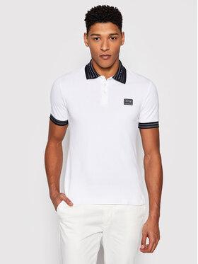 Versace Jeans Couture Versace Jeans Couture Тениска с яка и копчета B3GWA7T1 Бял Regular Fit