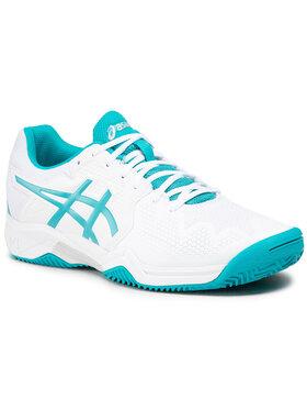 Asics Asics Παπούτσια Gel-Resolution 8 Clay Gs 1044A019 Λευκό