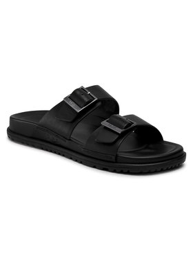 Ugg Ugg Papucs M Wainscott Buckle Slide 1119530 Fekete