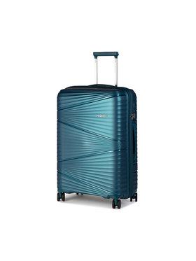 Puccini Puccini Střední Tvrdý kufr Victoria PP019B Modrá