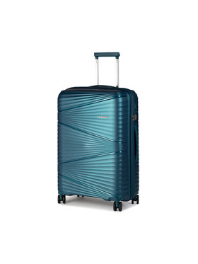 Puccini Puccini Valise rigide taille moyenne Victoria PP019B Bleu