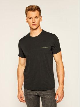 Emporio Armani Underwear Emporio Armani Underwear 2 póló készlet 111267 0A717 17020 Fekete Regular Fit