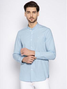 Calvin Klein Calvin Klein Chemise Standcollar Shirt K10K105283 Bleu Regular Fit