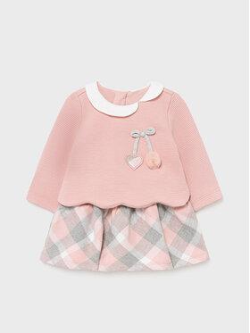 Mayoral Mayoral Φόρεμα κομψό 2806 Ροζ Regular Fit