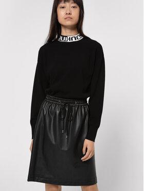 Hugo Hugo Suknja od imitacije kože Relani-1 50443141 Crna Slim Fit