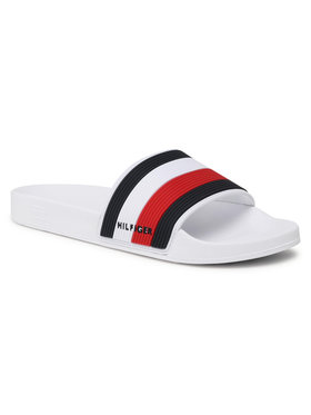 Tommy Hilfiger Tommy Hilfiger Чехли Essential Corporate Pool Slide FM0FM03375 Тъмносин