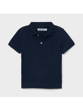 Mayoral Mayoral Polo 102 Blu scuro Regular Fit