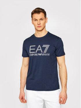 EA7 Emporio Armani EA7 Emporio Armani T-Shirt 3KPT81 PJM9Z 1554 Dunkelblau Regular Fit