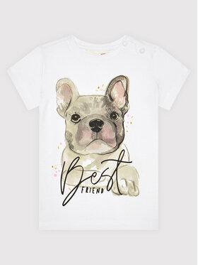 Coccodrillo Coccodrillo T-shirt ZC1143210EVG Blanc Regular Fit