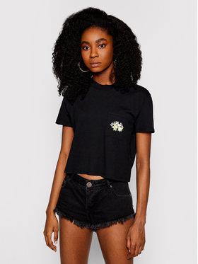 Volcom Volcom T-shirt Pocket Dial B3512103 Noir Regular Fit