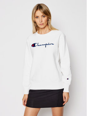 Champion Champion Bluză Reverse Weave 113152 Alb Standard Fit