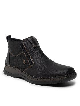 Rieker Rieker Зимни обувки 05398-00 Черен