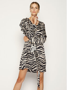 Just Cavalli Just Cavalli Sukienka letnia S04CT0925 Kolorowy Regular Fit
