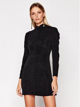 IRO IRO Koktejlové šaty Hasti AN855 Černá Slim Fit