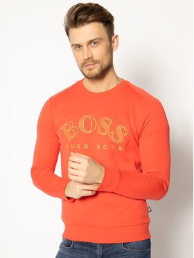 Boss Boss Džemperis Salbo 50418718 Raudona Regular Fit