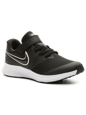 Nike Nike Обувки Star Runner 2 (Psv) AT1801 001 Черен