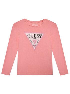 Guess Guess Blúz J1YI36 K6YW1 Rózsaszín Regular Fit