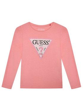 Guess Guess Блуза J1YI36 K6YW1 Розов Regular Fit
