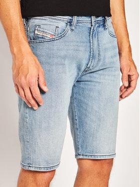 Diesel Diesel Pantaloni scurți de blugi Thoshort 00SD3U 0JAXG Albastru Slim Fit