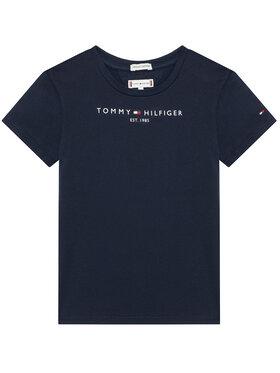 Tommy Hilfiger Tommy Hilfiger Marškinėliai Essential KG0KG05242 M Tamsiai mėlyna Regular Fit