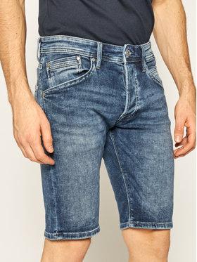 Pepe Jeans Pepe Jeans Jeansshorts Track Short Na7 PM800487 Dunkelblau Regular Fit