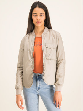 G-Star RAW G-Star RAW Bomber striukė Rovic Liner D16356-B958-1359 Smėlio Regular Fit