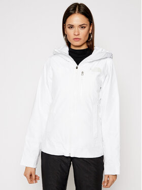 The North Face The North Face Skijacke Descendit NF0A4R1RFN41 Weiß Slim Fit