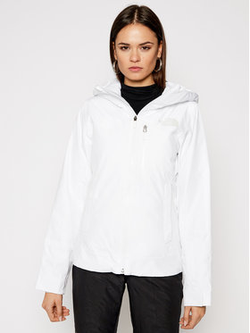 The North Face The North Face Скиорско яке Descendit NF0A4R1RFN41 Бял Slim Fit