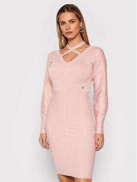 Guess Guess Robe en tricot Janet W1BK32 Z26I0 Rose Slim Fit